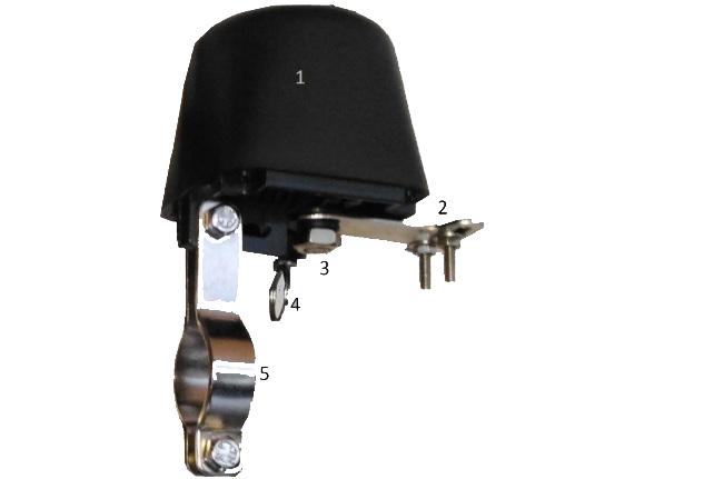 Электрический привод шарового вентиля «ОГО-Родник-ЭПШВ»