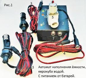 Автомат наполнения «ОГО-Родник-АН1-Бат»