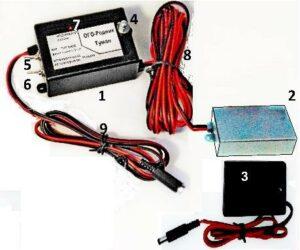 Контроллер туманообразования для теплиц «ОГО-Родник-Туман Бат-Н»